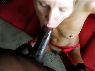 Lactating mature gets fucked by her black lover