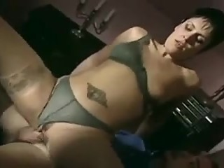 French wife treats hubby to watch her fuck another man