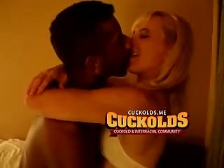 Cuckold shares white wife