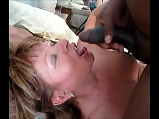 Mature Fucks BBC & Swallows...