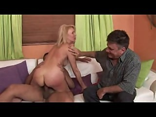 Black man fucks wife, cuckold